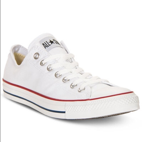 9da179f1e2b3 Converse Shoes - White Converse classic low tops women s 6